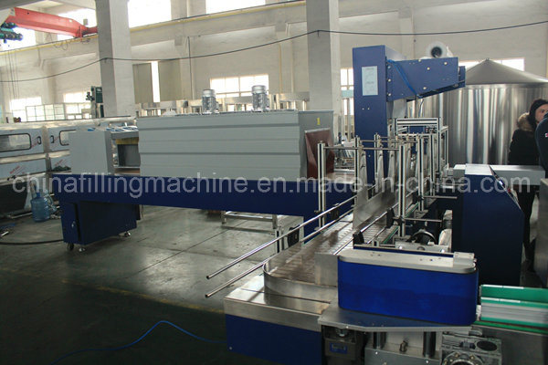 Automatic Bottles Film Shrinking Wrapping Machinery