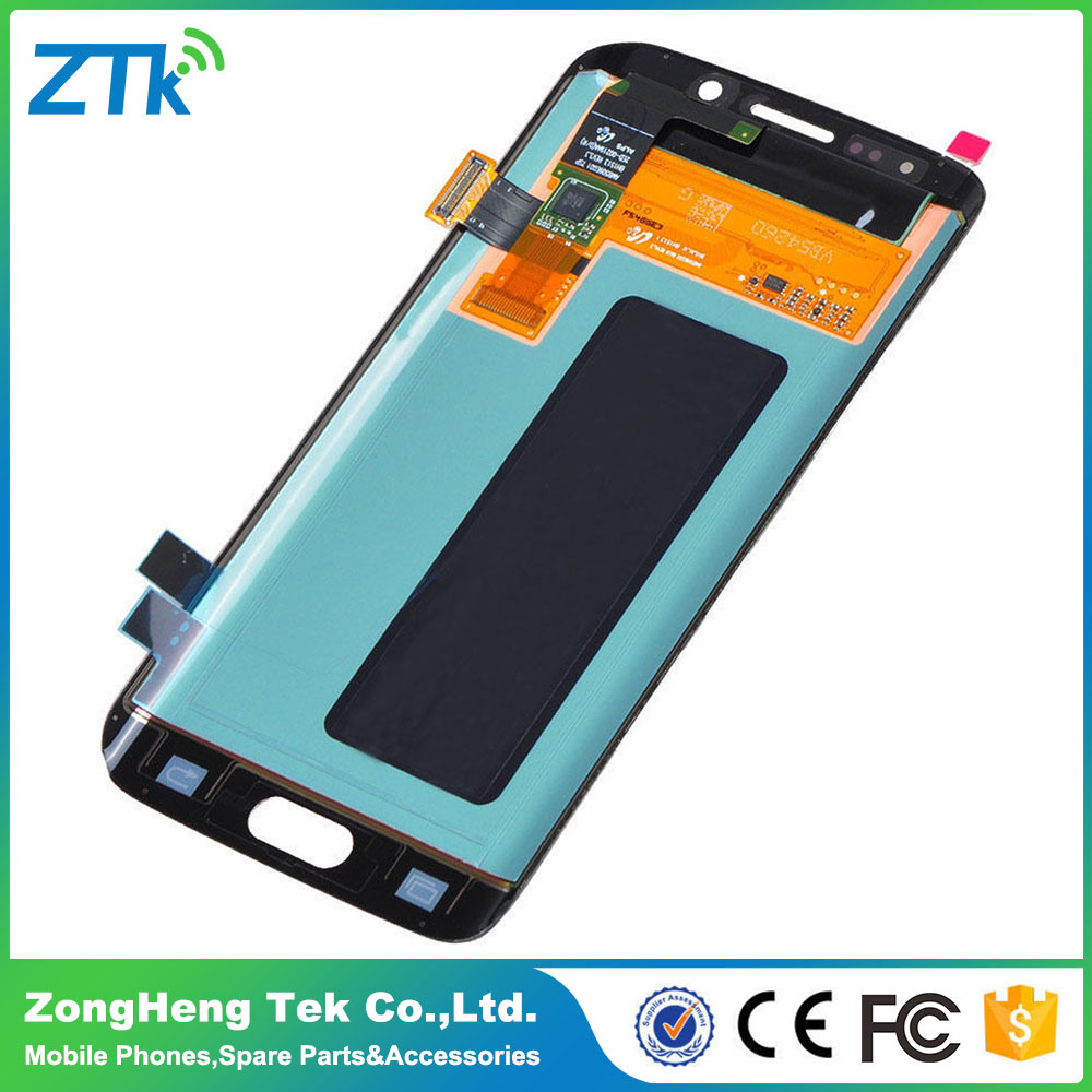 OEM Quality Mobile Phone Touch Screen Digitizer for Samsung S6 Edge Display