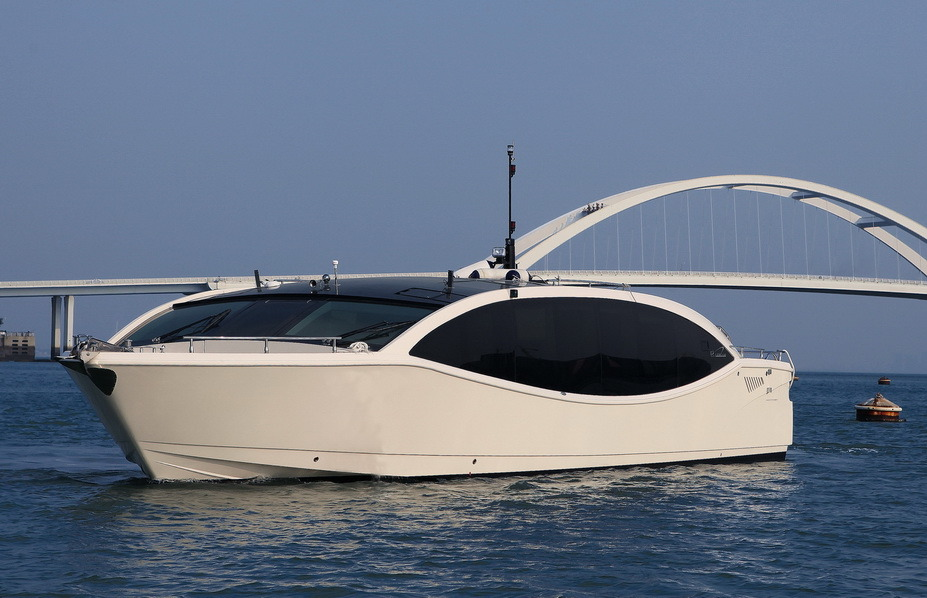 Seastella 53′ Commercial Yacht, Luxury with Solar Energy
