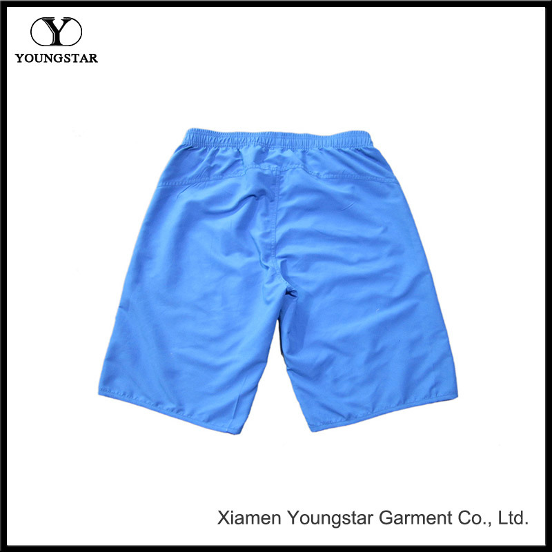 Blue Surf Short 22 Inch Lined Mens Long Board Shorts
