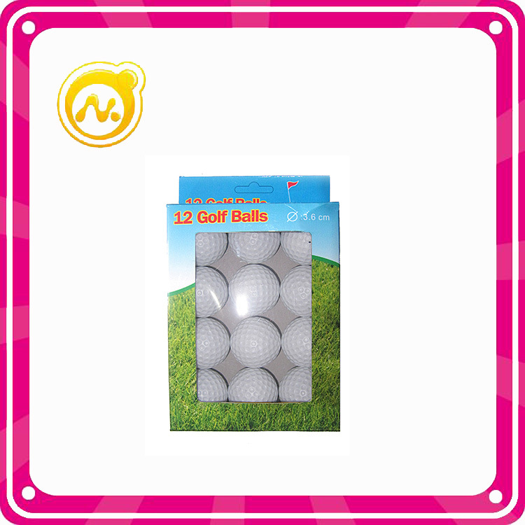 Colorful 3.6 Cm Toys Golf Ball