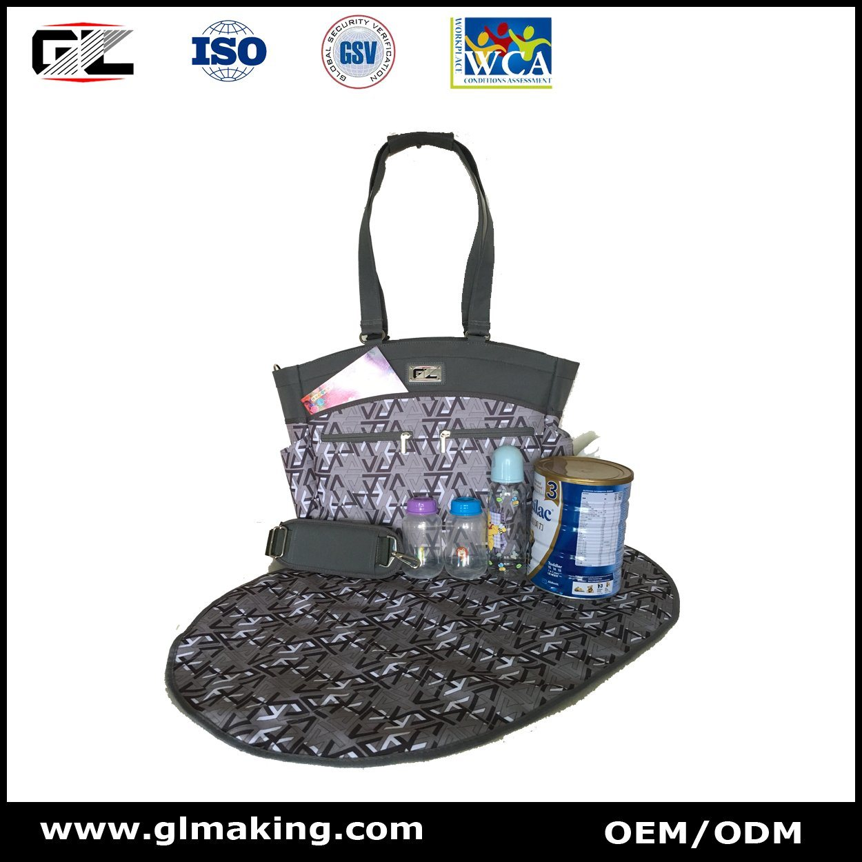 Fashion Diaper Bag From Manufacturer