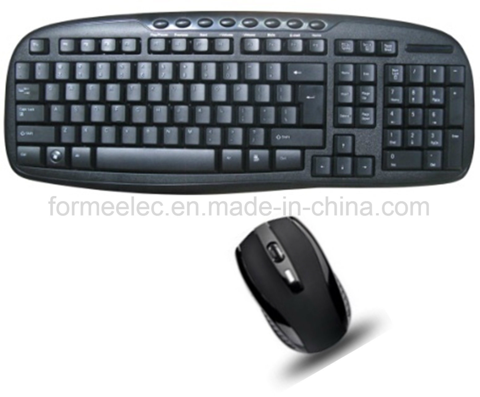 2.4G Multi-Media Wireless Mouse Keyboard Combo