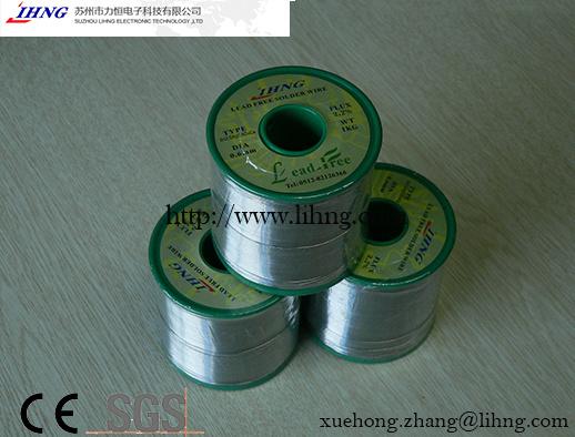 SGS/Ce Best Lead Free Solder Wire for Welding Robots
