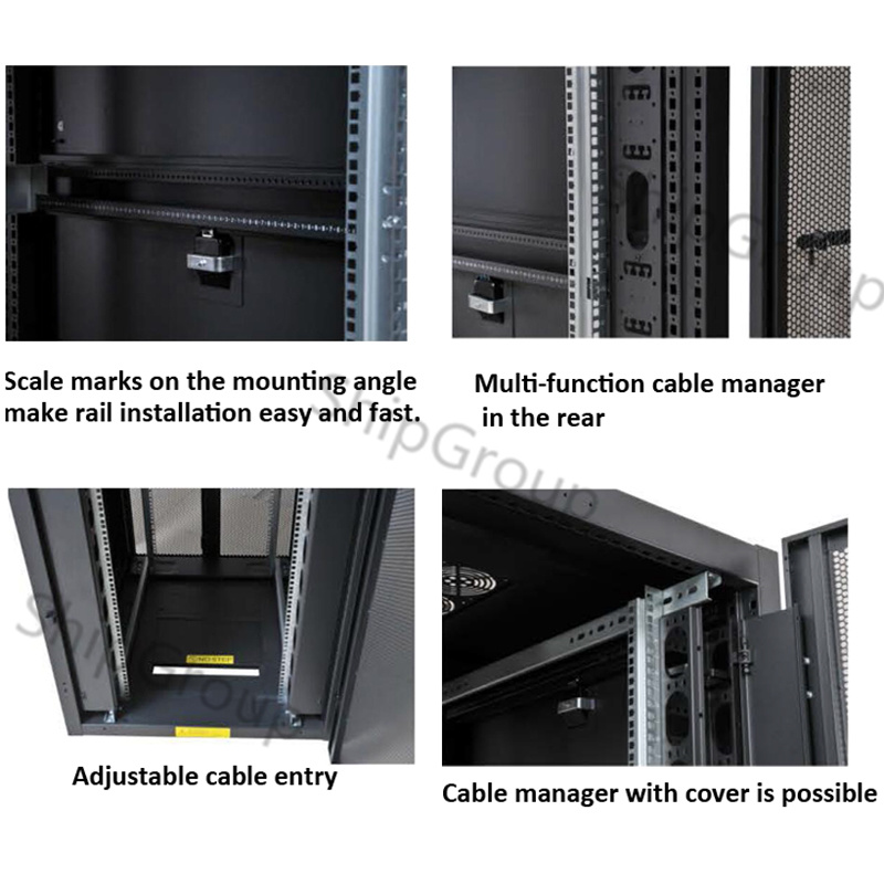 "19""Floor Standing Server Rack/Network Cabinet for Rack Mount"