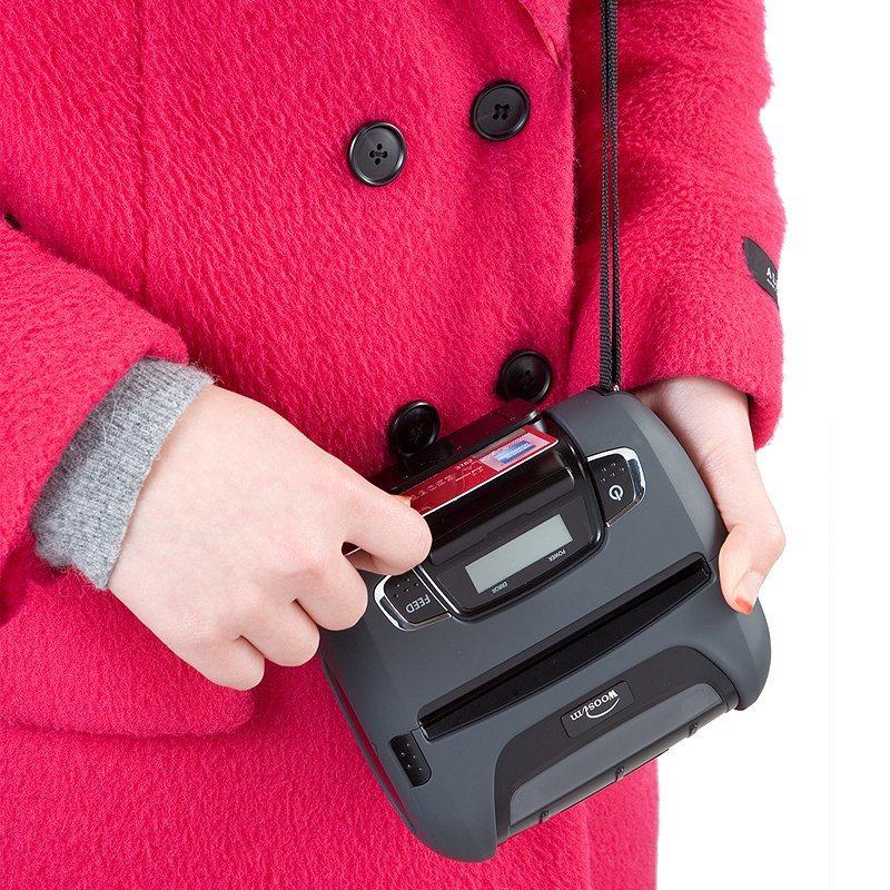 110mm Thermal Receipt Printer Bluetooth Mobile Thermal Printer Woosim Wsp-I450