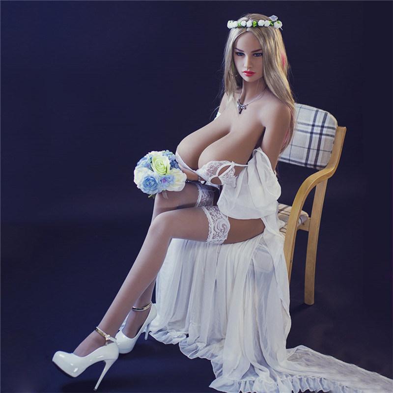 Huge Breast Sex Doll 156cm Naked Girl Sex Doll for Men
