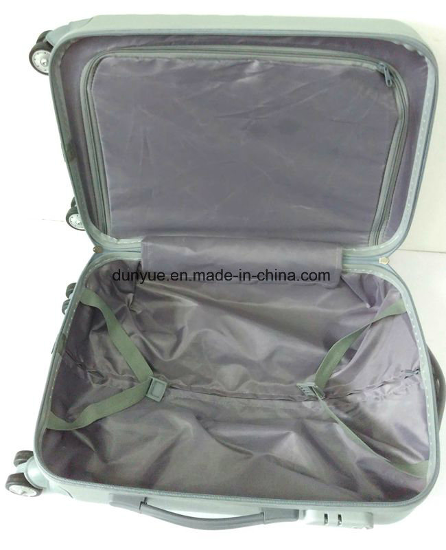 "Factory Make Low MOQ Durable ABS Material 20""24""28"" Travel Rolling Luggage Bag, Promotion OEM Cheap Zipper Trolley Case Bag"