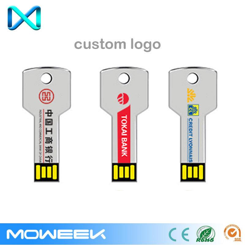 Customized Aluminum Gift Memory Key USB Flash Drive