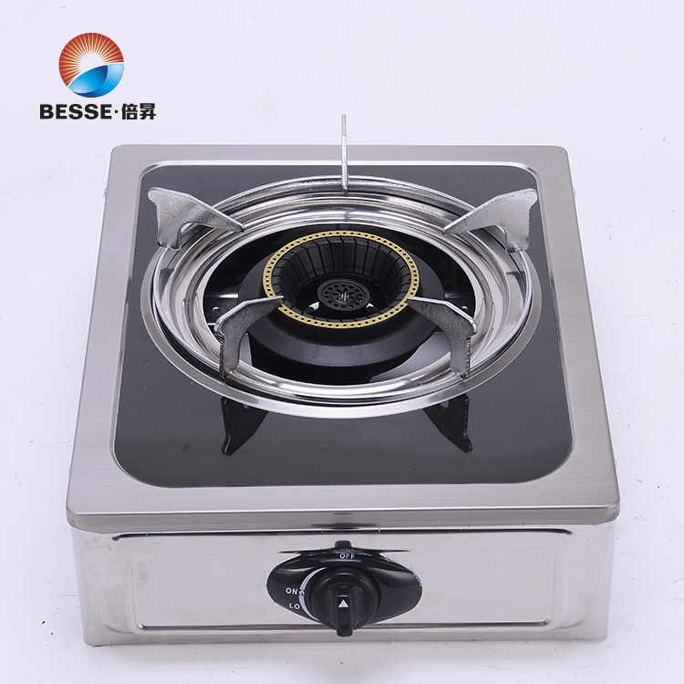 Colorful Steel Gas Stove, Single Burner