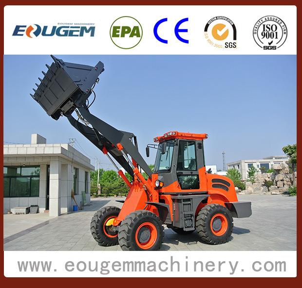 Eougem 2ton Small Wheel Loader Zl20