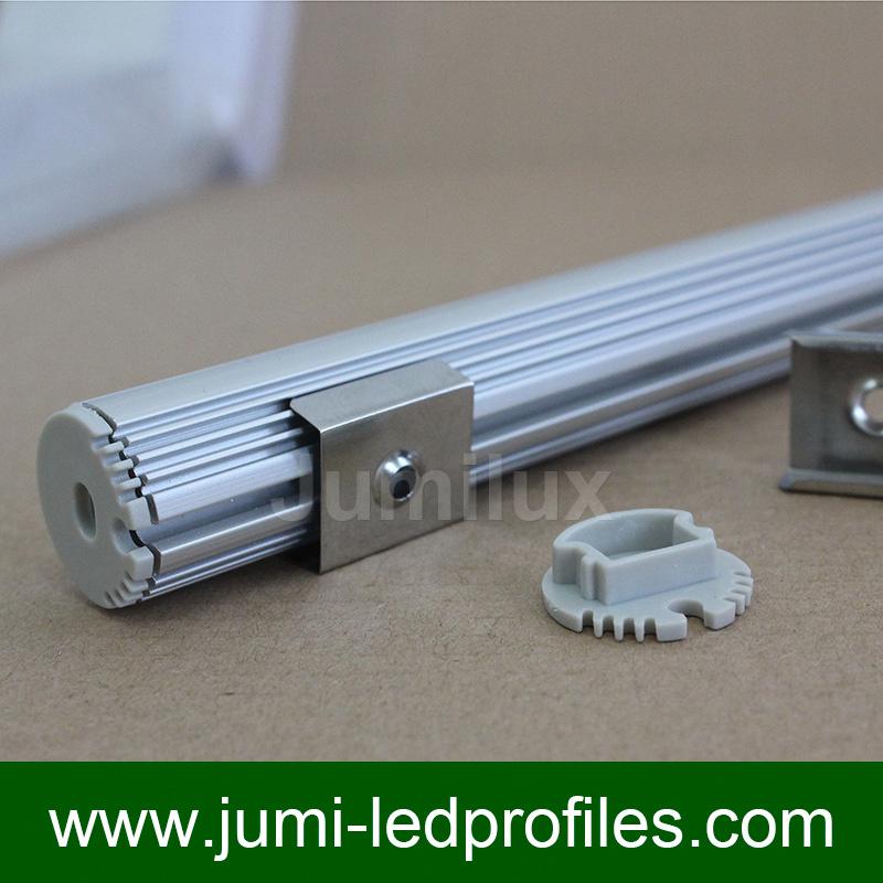 Round LED Aluminum Profile for LED Strips