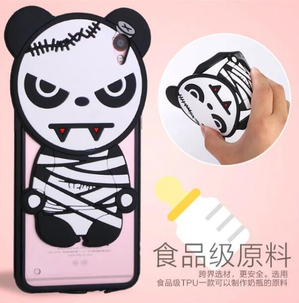 Cartoon Silicon Phone Case of iPhone, Vivo, Oppo, Xiaomi Redmi, Letv Use