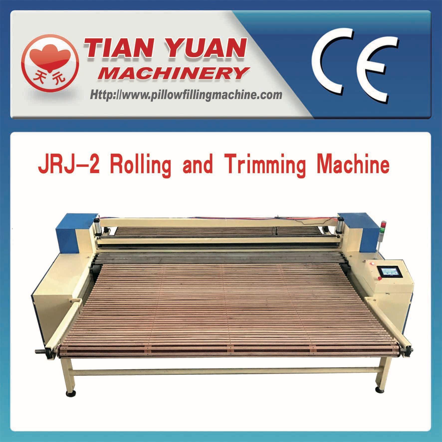 Stiff Wadding Cutting and Coiling Machine (JRJ-2)