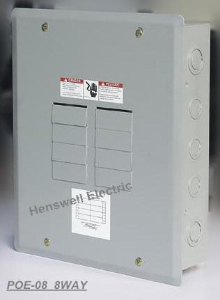 8 Way Plug in Type Distribution Board