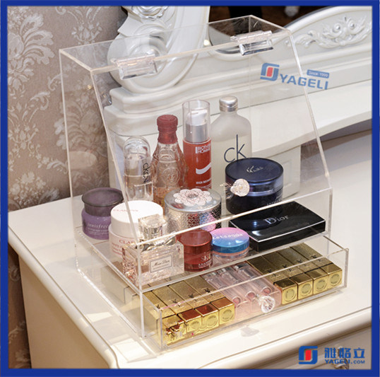Modern Clear Home Storage Acrylic Makeup Organizer
