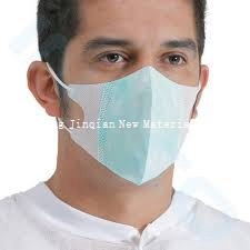 Blue&White 9~10g PP Nonwoven Fabric for Medical Face Mask