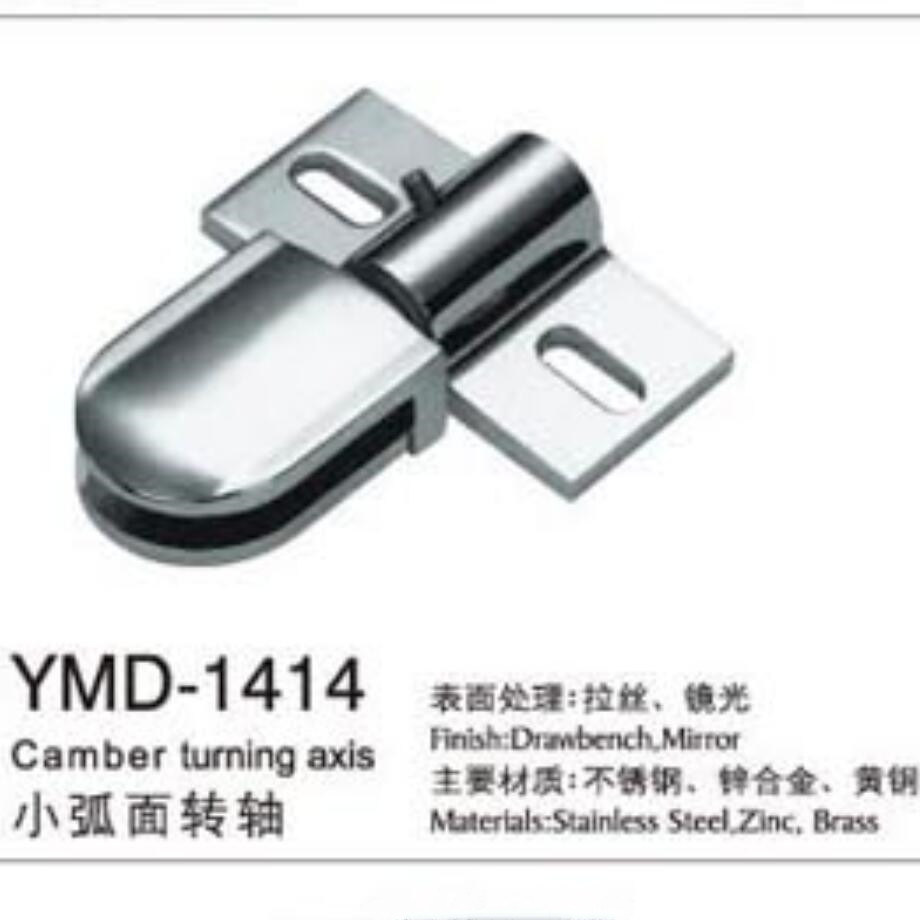 Stainless Steel Glass Door Hardware Fittings Turning Axis
