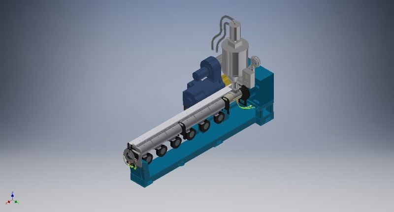 Sj-150X25 Single Screw Extruder