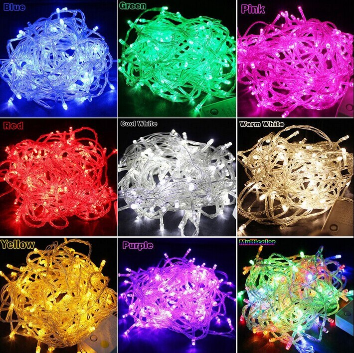 Waterproof Outdoor Christmas Decoration LED String Light