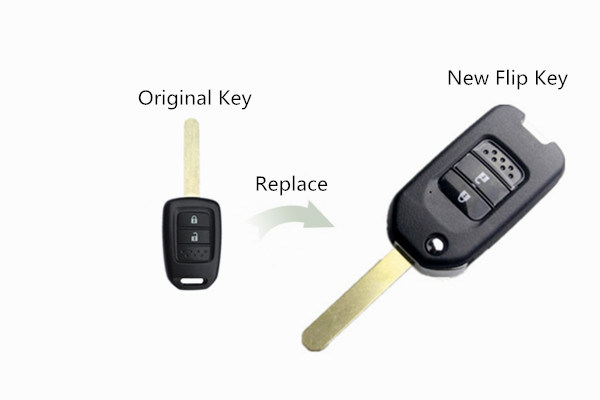 Car Key Fob for Honda Fit, Vezel