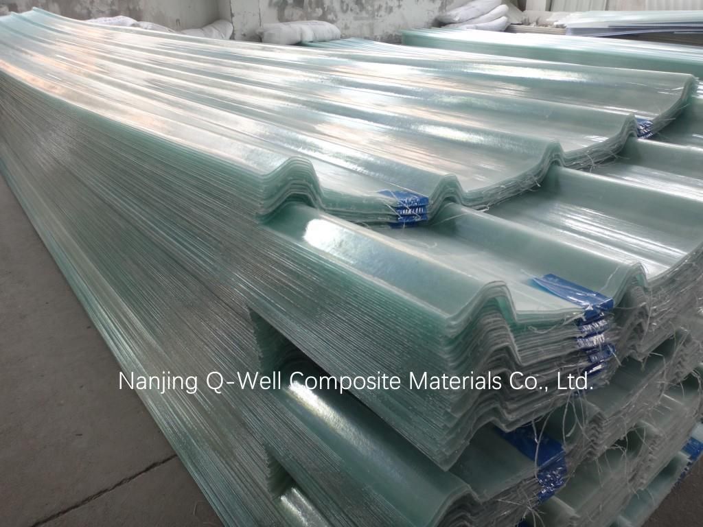 FRP Panel Corrugated Fiberglass/Fiber Glass Roofing Panels 171005