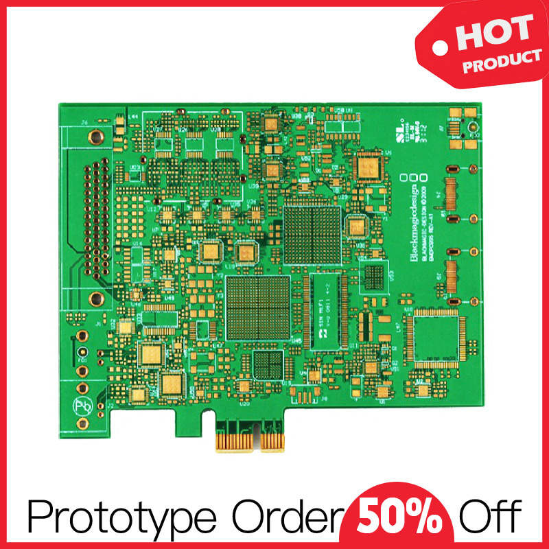 Quick Turn Fr4 Single Layer Prototype PCB Board
