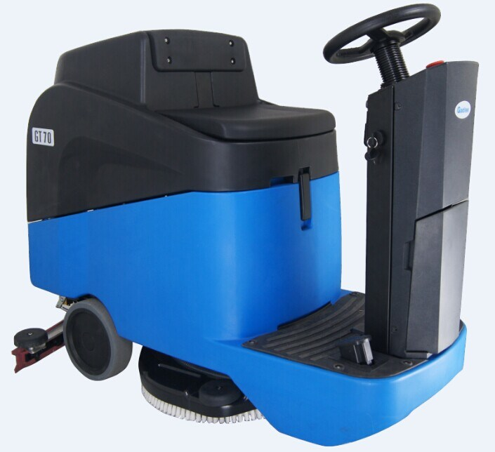 Small Cleaning Machine Ce Ride-on Scrubber Dryer Economic