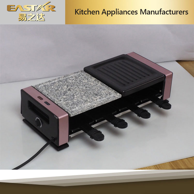 1200W 8 Person Raclette Grill