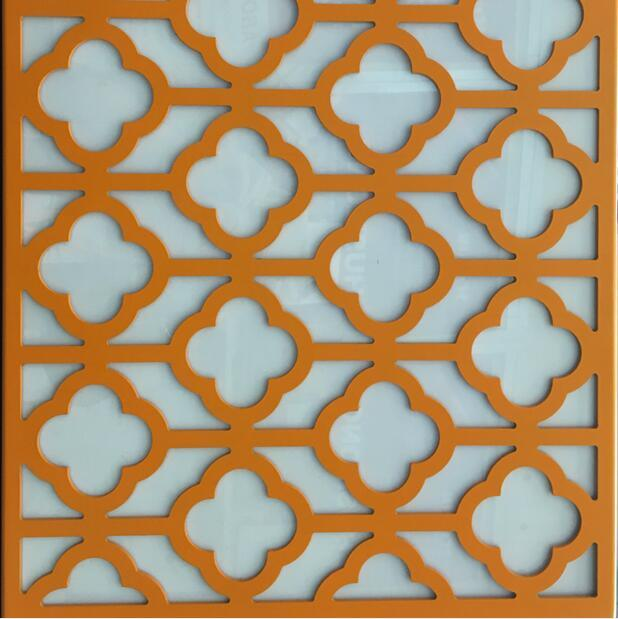 Aluminum CNC Cutting Cladding for Ceiling & Wall Decorative Using