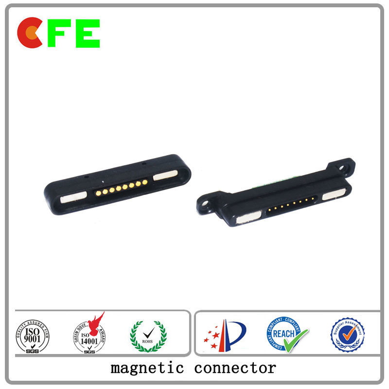 Customized 8pin Magnetic Connector for Management System