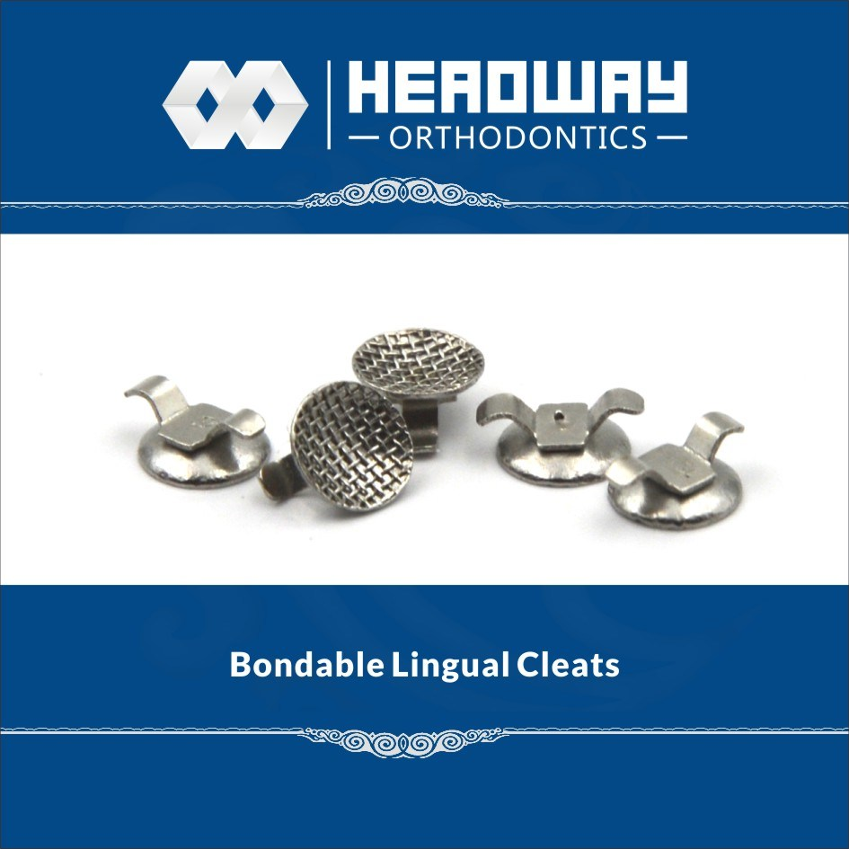 Orthodontic Product, Headway Curved Bondable Lingual Cleats