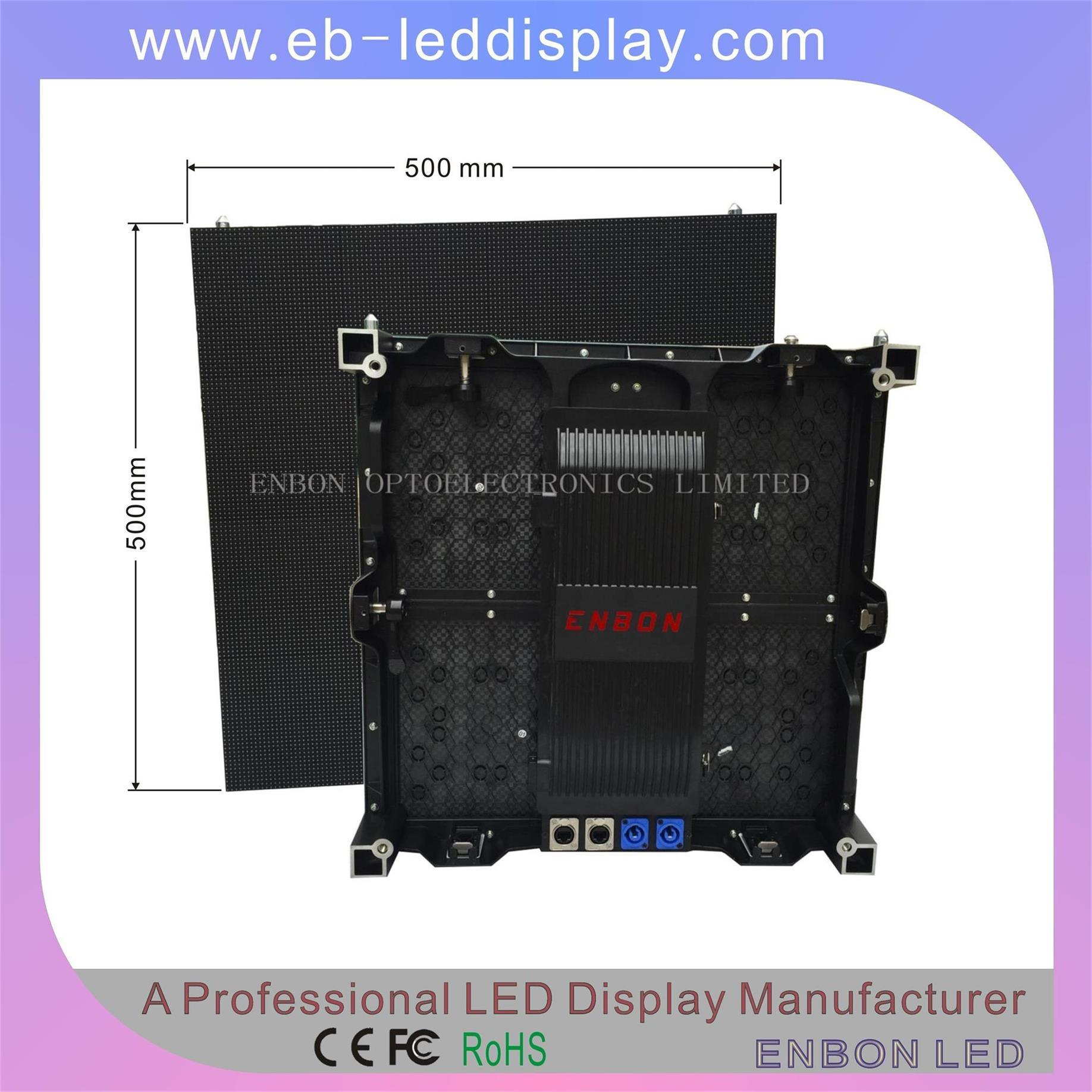 High-Quality Indoor Full Color LED Video Wall with SMD2121-Black-LED