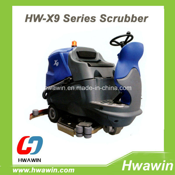 Powerful Automatic Ride on Floor Cleaning Scrubber Machine