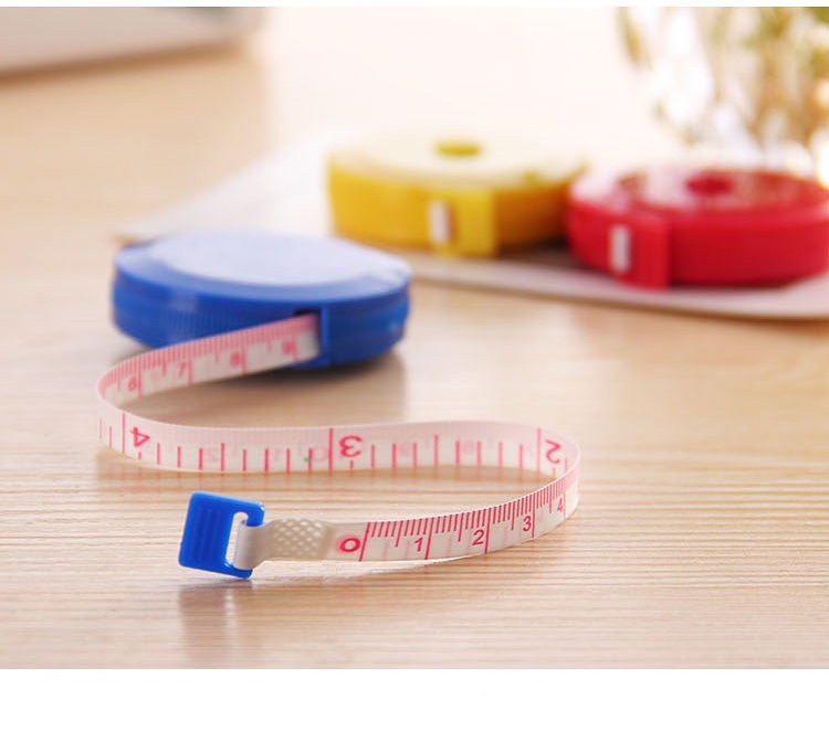150 Cm Colorful Pocket Plastic Round Tapeline Tape Measure