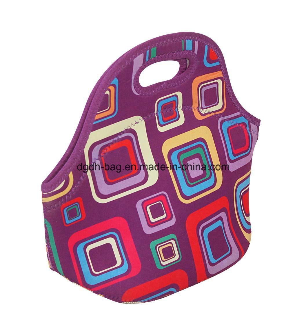 Promotional New Design Tote Cooler Neoprene Lunch Bag Handbags