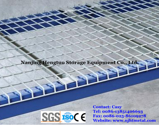 Galvanized Steel Wire Mesh Deck for Warehouse Pallet Rack
