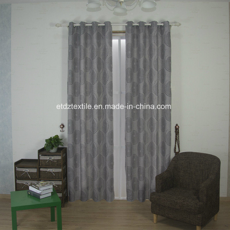 American Prefer Linen Style 100% Polyester Piece Dyed Curtain Fabric