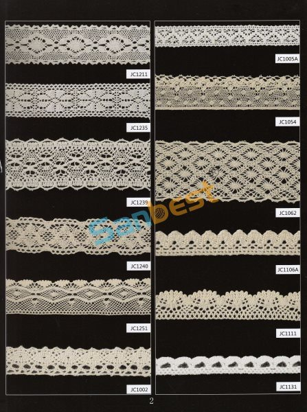 Different Designs Beautiful Torchon Lace for Clothes