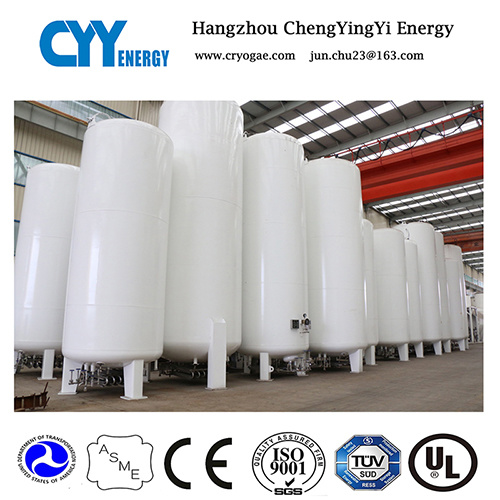 Cryogenic Liquid Storage Tank for Lox Lin Lar Lco2 LNG with ASME GB Approved