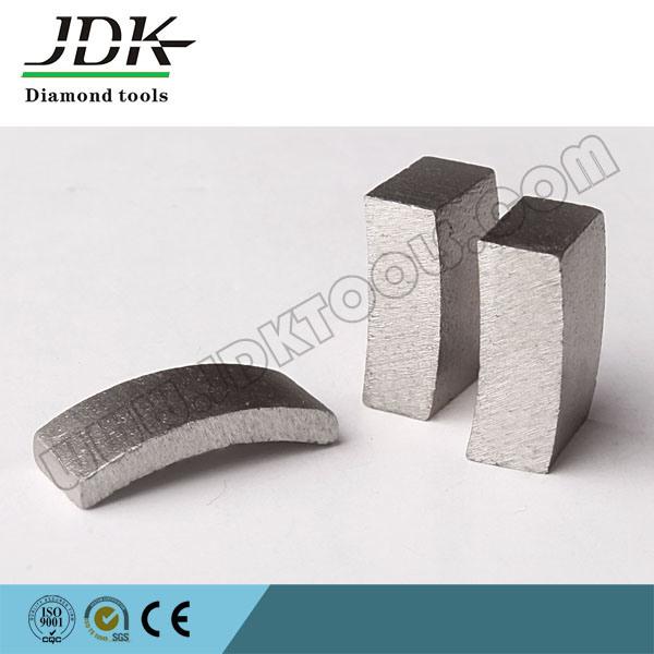 Roof Top Diamond Core Drill Segment for Reinforced Concrete Core Bit Drilling Segment