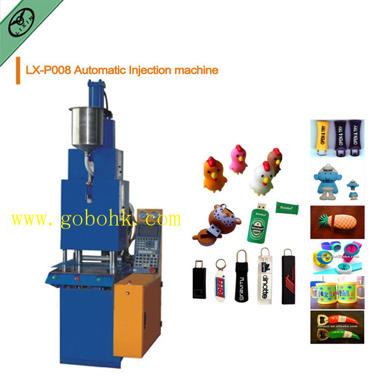Hot Selling Automatic Zipper Puller Injection Mold Machine PVC
