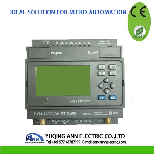 Exm WiFi&GSM CPU PLC Exm-12DC-Da-Rt-Gwifi Ce RoHS