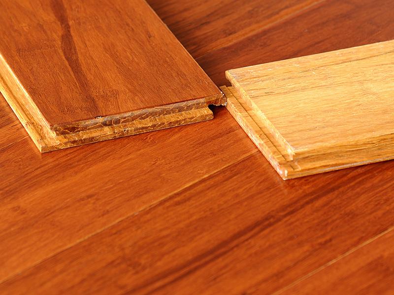 Teak Strand Woven Bamboo Flooring