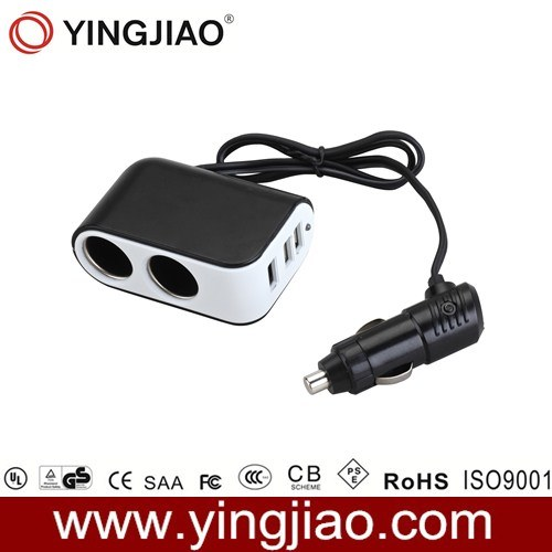 5V 3.1A 16W USB in Car Charger with CE