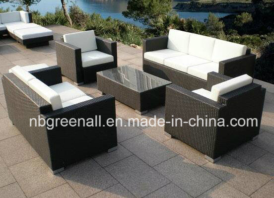5 PCS Rattan All Weather Wicker Patio Furniture
