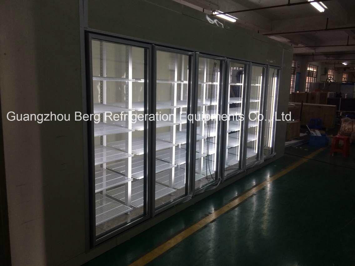 4 Door Commercial Glass Door Display Refrigerator La-4FC