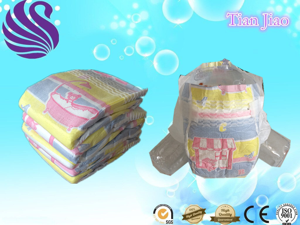 OEM Disposable Top Quality Baby Diaper with High Absorbency