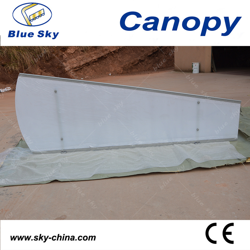 Outdoor Polycarbonate and Aluminum Rain Canopy (B910)