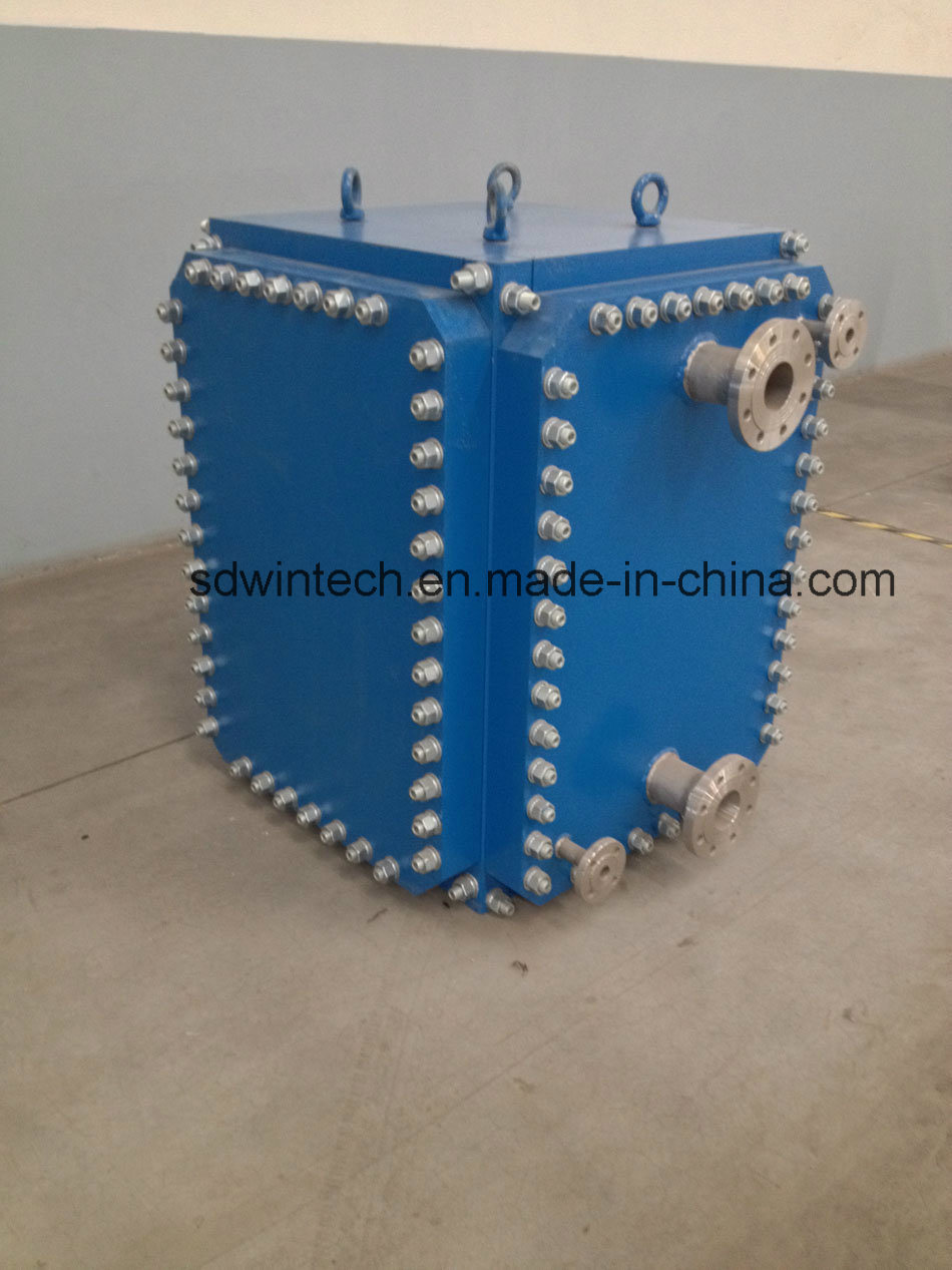 Industrial Stainless Steel Plate and Frame Heat Exchanger/All Welded Plate Type Heat Exchanger/Block Structure